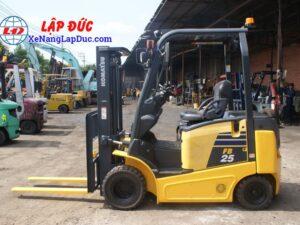 Xe nâng điện ngồi lái KOMATSU 2.5 tấn FB25-12 # 100008 26