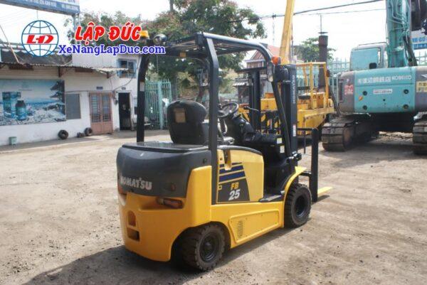 Xe nâng điện ngồi lái KOMATSU 2.5 tấn FB25-12 # 100008 4