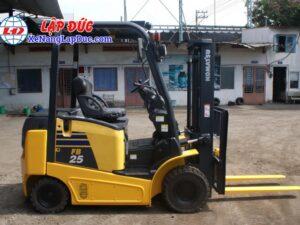 Xe nâng điện ngồi lái KOMATSU 2.5 tấn FB25-12 # 100008 17