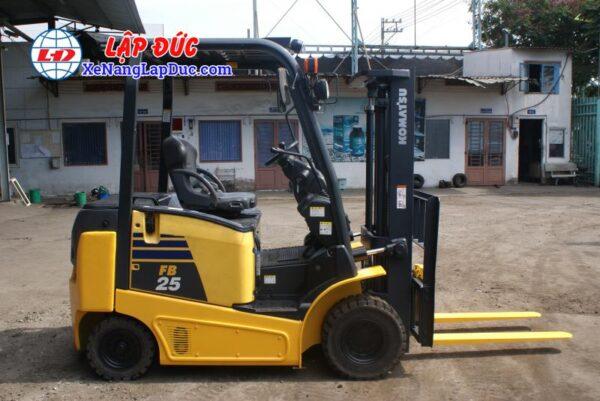 Xe nâng điện ngồi lái KOMATSU 2.5 tấn FB25-12 # 100008 3