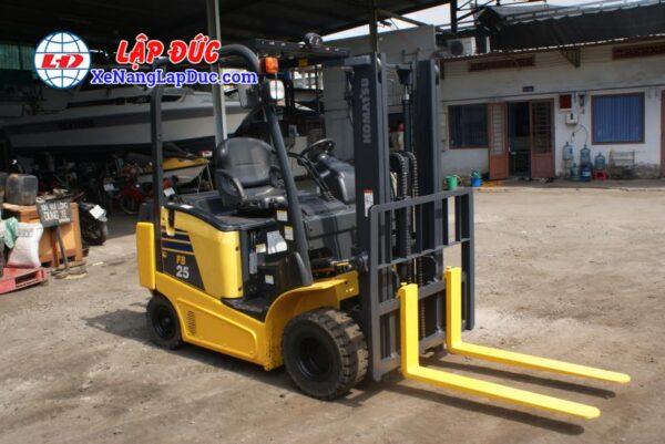 Xe nâng điện ngồi lái KOMATSU 2.5 tấn FB25-12 # 100008 2
