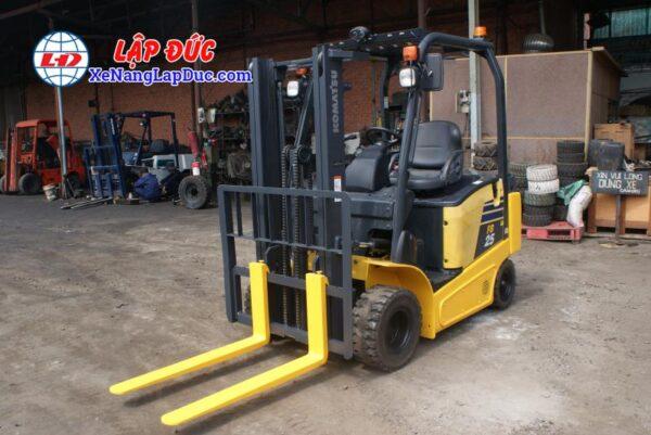 Xe nâng điện ngồi lái KOMATSU 2.5 tấn FB25-12 # 100008 9