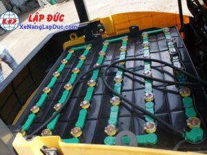 Xe nâng điện ngồi lái KOMATSU 2.5 tấn FB25-12 # 100008 25