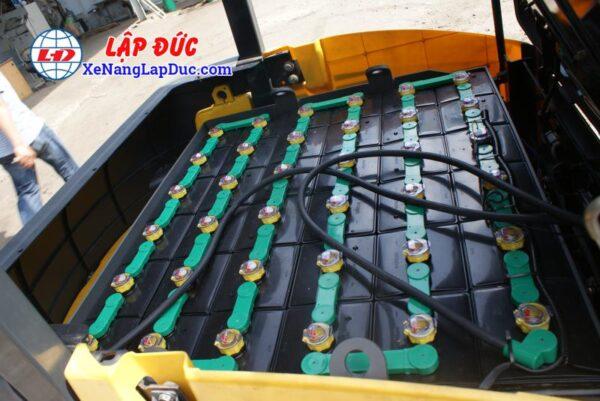 Xe nâng điện ngồi lái KOMATSU 2.5 tấn FB25-12 # 100008 11