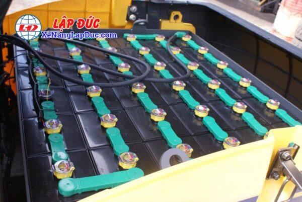 Xe nâng điện ngồi lái KOMATSU 2.5 tấn FB25-12 # 100008 10