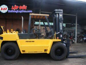 Xe Nâng Dầu 13.5 tấn KOMATSU FD135-4 # 01691 19