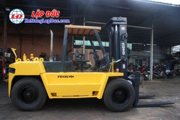 Xe Nâng Dầu 13.5 tấn KOMATSU FD135-4 # 01691 7