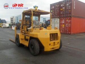 Xe nâng dầu KOMATSU 06 tấn FD60-2 # 10105 giá rẻ