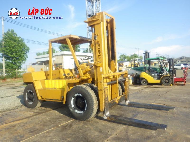 Xe nâng dầu cũ KOMATSU 13.5 tấn FD135-4 # 01691 giá rẻ