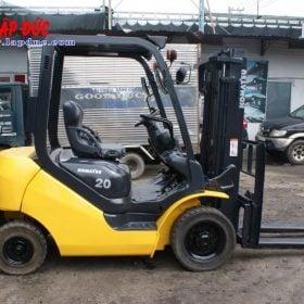 Xe nâng dầu 2 tấn KOMATSU FD20T-17 giá rẻ