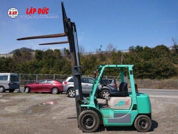 Xe nâng dầu cũ 2.5 tấn MITSUBISHI FKD25 # 738556 giá rẻ