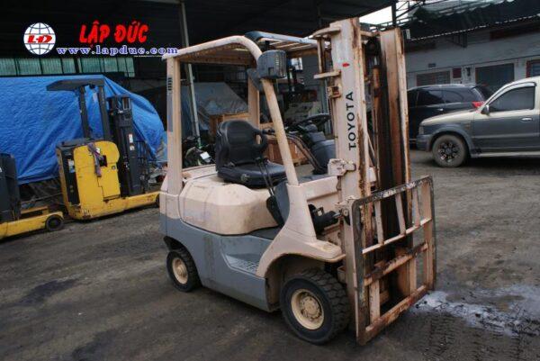 Xe Nâng Dầu 1.4 tấn TOYOTA 7FD14 # 13523