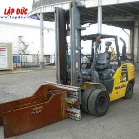 Xe nâng máy dầu cũ KOMATSU 4.5 tấn FH45-1 # 138223 giá rẻ