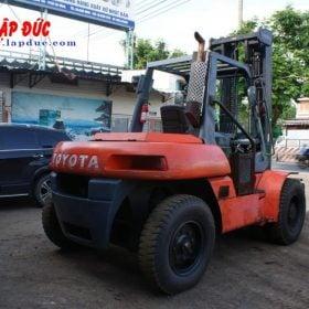 Xe Nâng Dầu 8 tấn TOYOTA 5FD80 # 30136