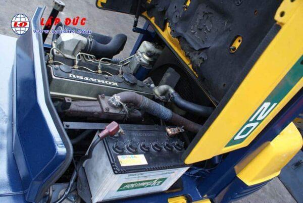 Xe nâng 2 tấn máy dầu KOMATSU FD20-11 # 461369 giá rẻ