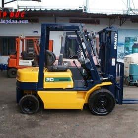 Xe nâng máy dầu cũ KOMATSU 2 tấn FD20-11 # 461369 giá rẻ