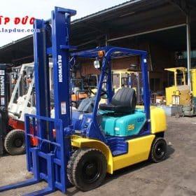 Xe nâng dầu 2.5 tấn KOMATSU FD25C-12 # 532585 giá rẻ