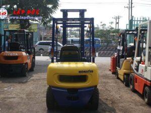 KOMATSU 2.5 ton Diesel Forklift Model FD25C-12 # 532585 4