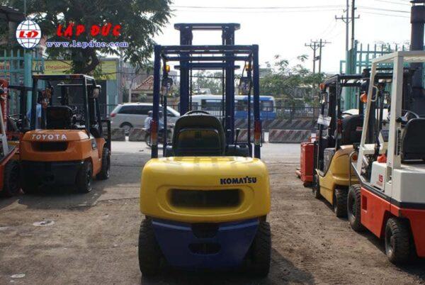 KOMATSU 2.5 ton Diesel Forklift Model FD25C-12 # 532585 2