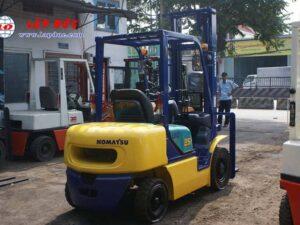 KOMATSU 2.5 ton Diesel Forklift Model FD25C-12 # 532585 3