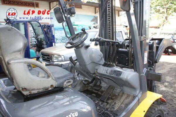 Xe Nâng Dầu 3 tấn KOMATSU FD30T-17 # 327285 Kẹp giấy