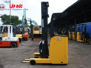 Xe nâng điện đứng lái KOMATSU 1.5 tấn FB15RL# 14 -146097 giá rẻ