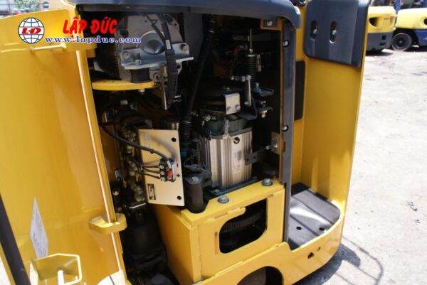 Xe nâng điện KOMATSU 1.8 tấn đứng lái FB18RL-15 # 153971 giá rẻ