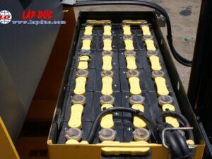 Xe nâng điện đứng lái cũ 1.8 tấn KOMATSU FB18RL-15 # 153971 giá rẻ