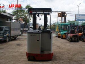 Xe nâng điện đứng lái cũ 2.5 tấn NICHIYU FBR25-75-500 # 3062 giá rẻ