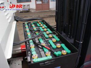 Xe nâng điện cũ NICHIYU đứng lái 2.5 tấn FBR25-75-500 # 3062 giá rẻ