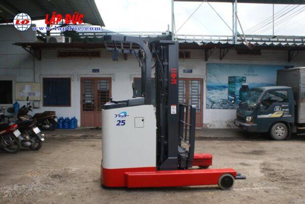 Xe nâng điện đứng lái NICHIYU 2.5 tấn FBR25-75-500 # 3062