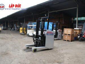 Xe nâng điện đứng lái NISSAN 1.5 tấn U01F15 # R1G-06808