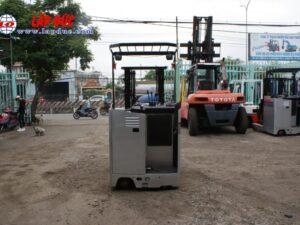 Xe nâng điện NISSAN đứng lái 1.5 tấn U01L15 # R1G-15470 giá rẻ