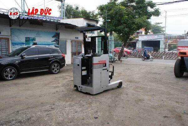 Xe nâng điện đứng lái 1.5 tấn NISSAN U01L15 # R1G-15470 giá rẻ