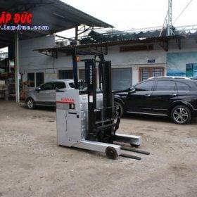 Xe nâng điện đứng lái cũ 1.5 tấn NISSAN U01L15 # R1G-15470 giá rẻ