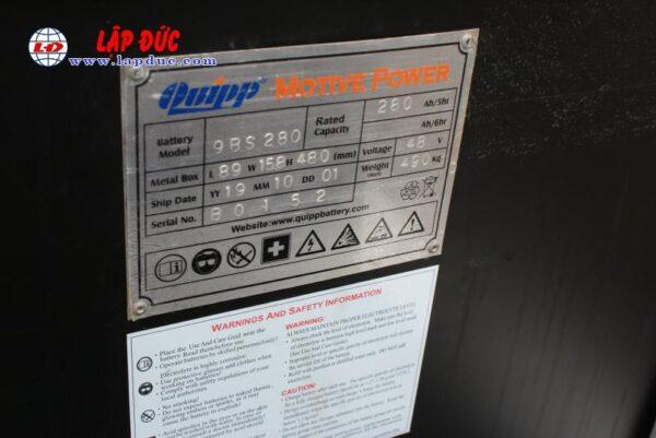 Xe nâng điện đứng lái cũ NISSAN 1.5 tấn U01L15 # R1G-15470 giá rẻ