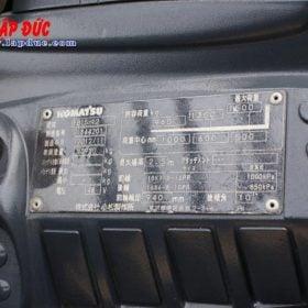 Xe nâng điện ngồi lái cũ KOMATSU 1.5 tấn FB15-12 # 844201