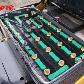 Xe nâng điện KOMATSU 1.5 tấn ngồi lái FB15-12 # 844201