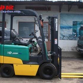 Xe nâng điện ngồi lái cũ KOMATSU 1.0 tấn FB10EX-11 # 811833