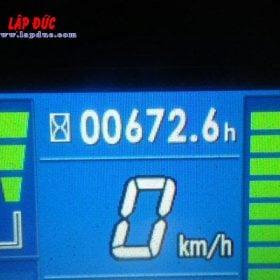 Xe nâng điện cũ KOMATSU 2.5 tấn ngồi lái FB25-12 # 100008
