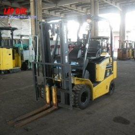 Xe nâng điện KOMATSU 2.5 tấn ngồi lái FB25-12 # 100008