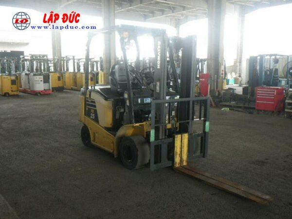 Xe nâng điện ngồi lái 2.5 tấn KOMATSU FB25-12 # 100774