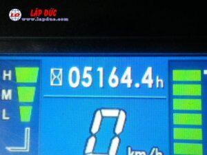 Xe nâng điện ngồi lái cũ KOMATSU 2.5 tấn FB25-12 # 100774