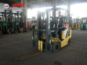 Xe nâng điện KOMATSU 2.5 tấn ngồi lái FB25-12 # 100774