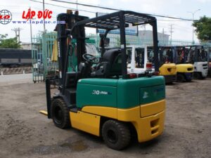 Xe nâng điện ngồi lái 3 tấn KOMATSU FB30-11 # 820446