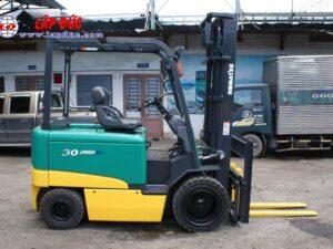 Xe nâng điện ngồi lái cũ KOMATSU 3 tấn FB30-11 # 820446