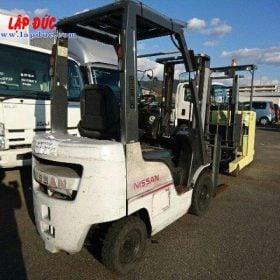 Xe nâng xăng cũ NISSAN 1 tấn EBT-NP1F1 #726030 giá rẻ