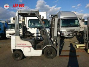 Xe nâng máy xăng NISSAN 1 tấn EBT-NP1F1 #726030 giá rẻ