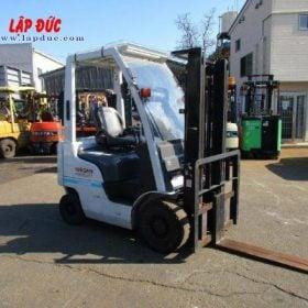 Xe nâng xăng cũ NISSAN 1 tấn EBT-NP1F1 # 740879 giá rẻ