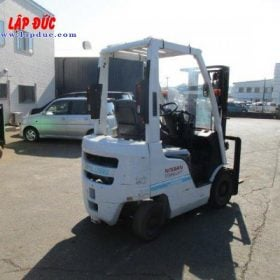 Xe nâng xăng 1 tấn NISSAN EBT-NP1F1 # 740879 giá rẻ